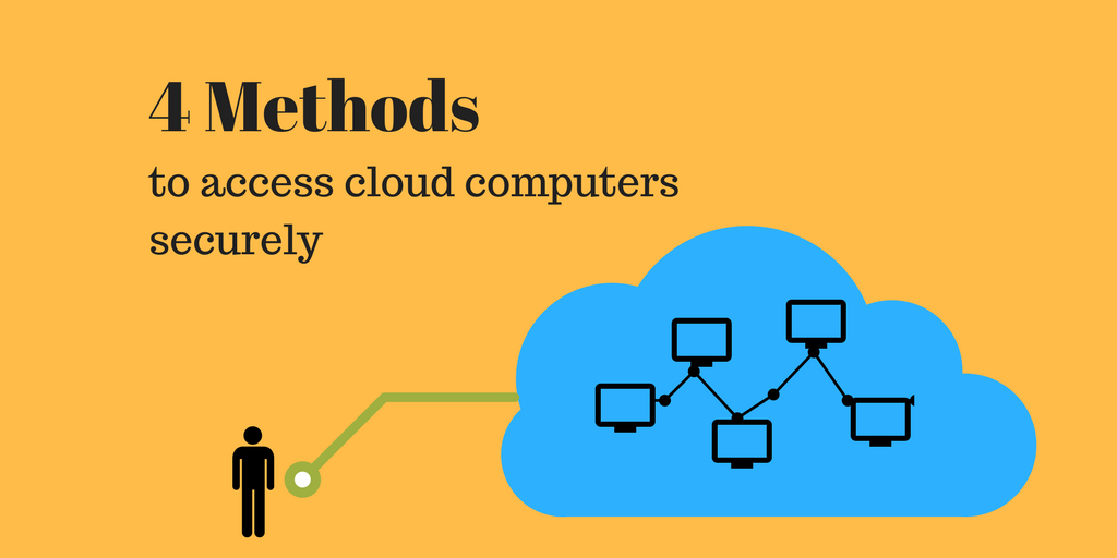 Four methods to access cloud computers securely | Xton Technologies