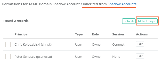 Xton Access Manager Inherited Permissions