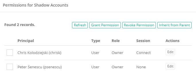 Xton Access Manager Unique Permissions