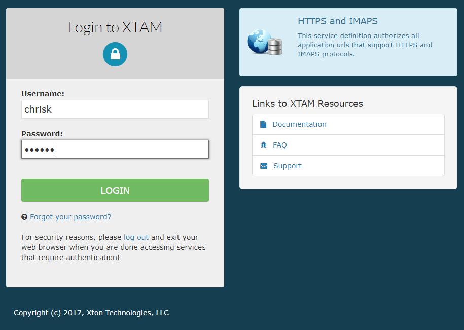 Xton Technologies Google MFA Login