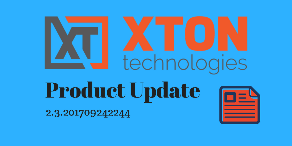 Xton Tech XTAM Privileged Account and Access Manager Product Update