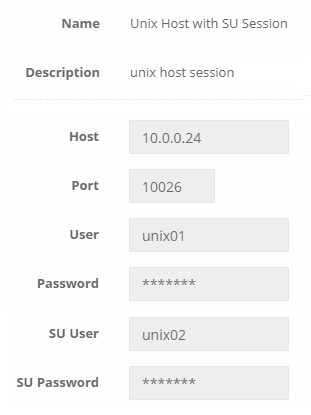 Privileged Unix Sessions with SUDO Support