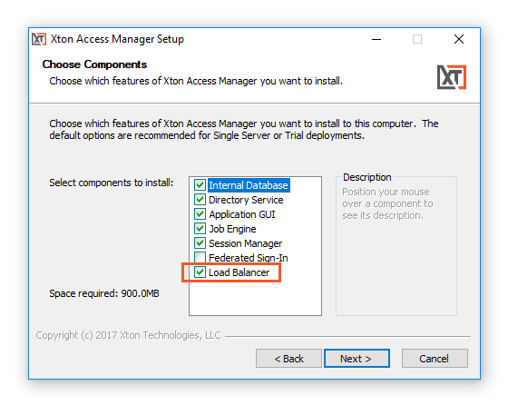 Xton Access Manager IIS Load Balancer
