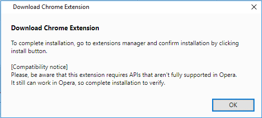 Xton Access Manager Extension Confirm Download