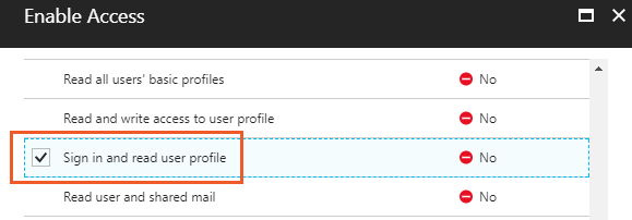 XTAM Microsoft Graph Enable Access