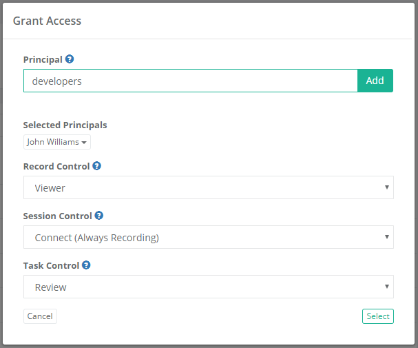 Xton Access Manager Object Permissions