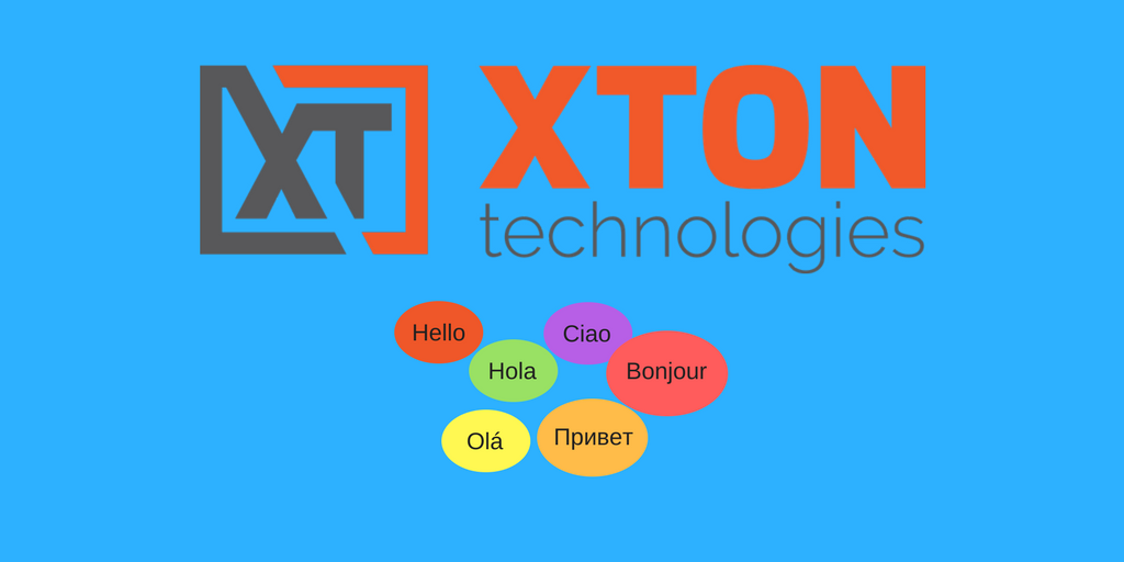 XtonTech PAM privileged account management Product Update 2.3.201802112225 multi-language support