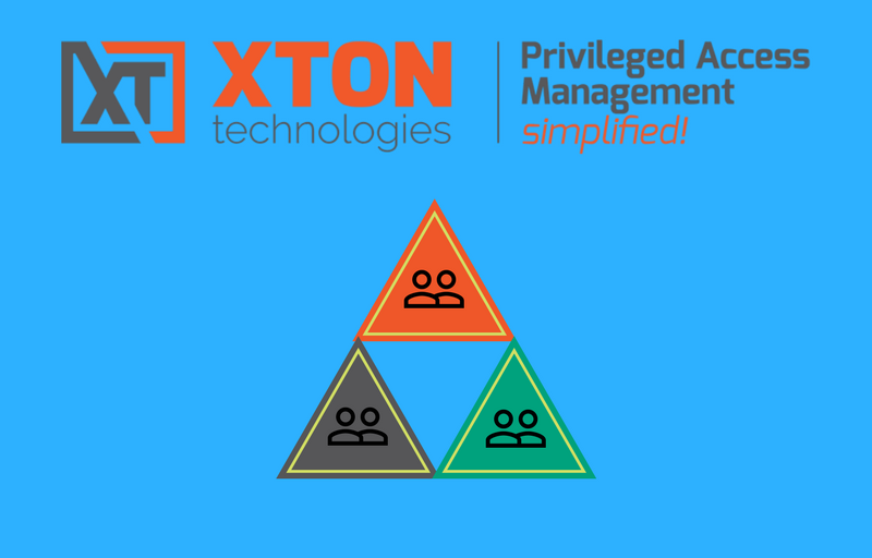XtonTech PAM privileged account management Product Update 2.3.201804222226 Multiple Active Directory Forests Join Session event report custom groups