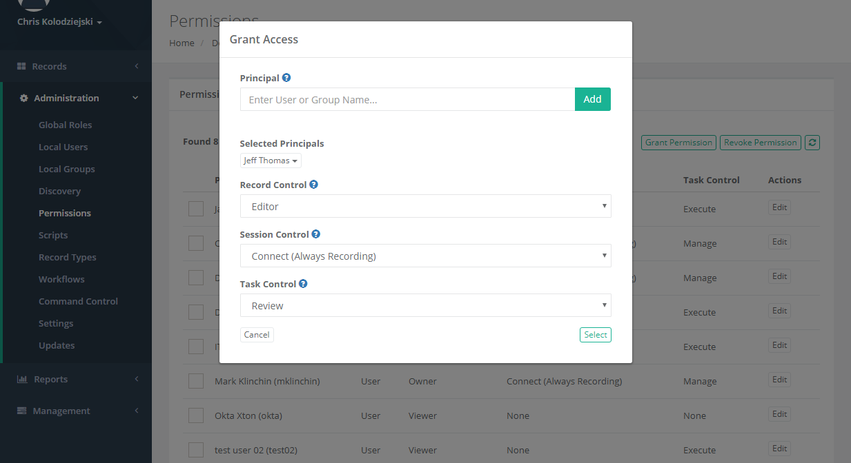 Approval Workflow Request Access
