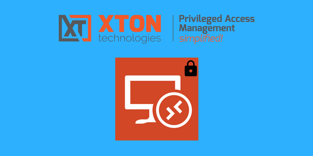 XtonTech PAM privileged account management Product Update 2.3.201805062226 federated sign in high availability TLS 1.2 RDP