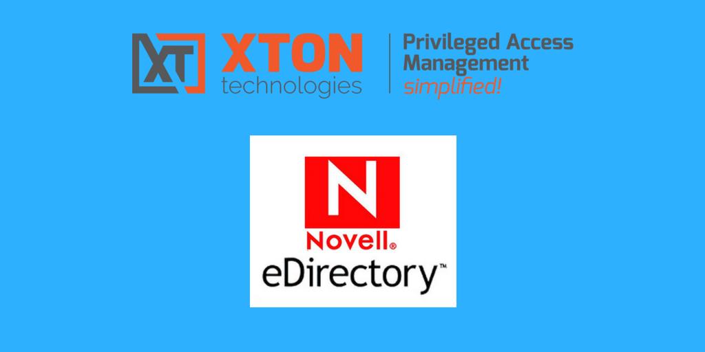 XtonTech PAM privileged account management Product Update 2.3.201805132211 NetIQ eDirectory