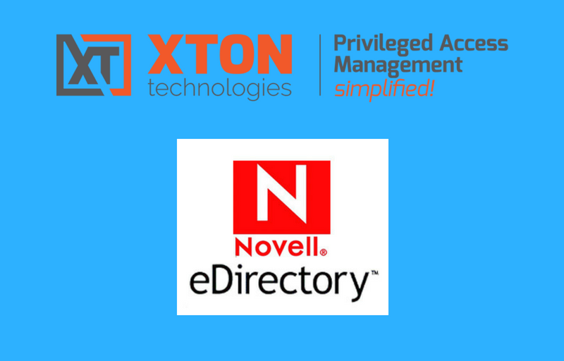 XtonTech PAM privileged account management Product Update 2.3.201805132211 NetIQ eDirectory