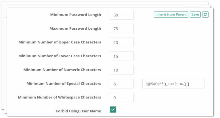 XTAM Privileged Account Management Password Formula