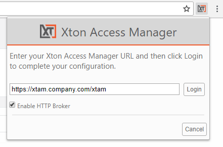 XTAM HTTP Proxy Browser Extension