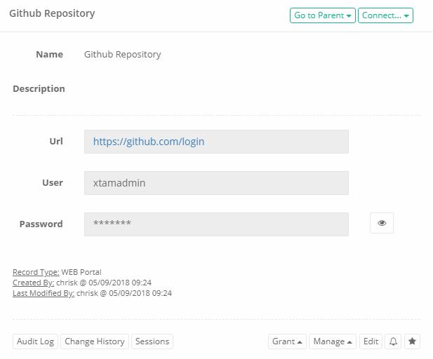 XTAM HTTP Proxy Web Portal Record