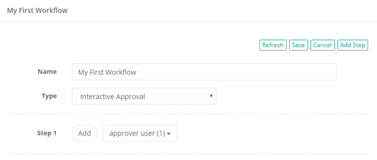Workflow Template Completed