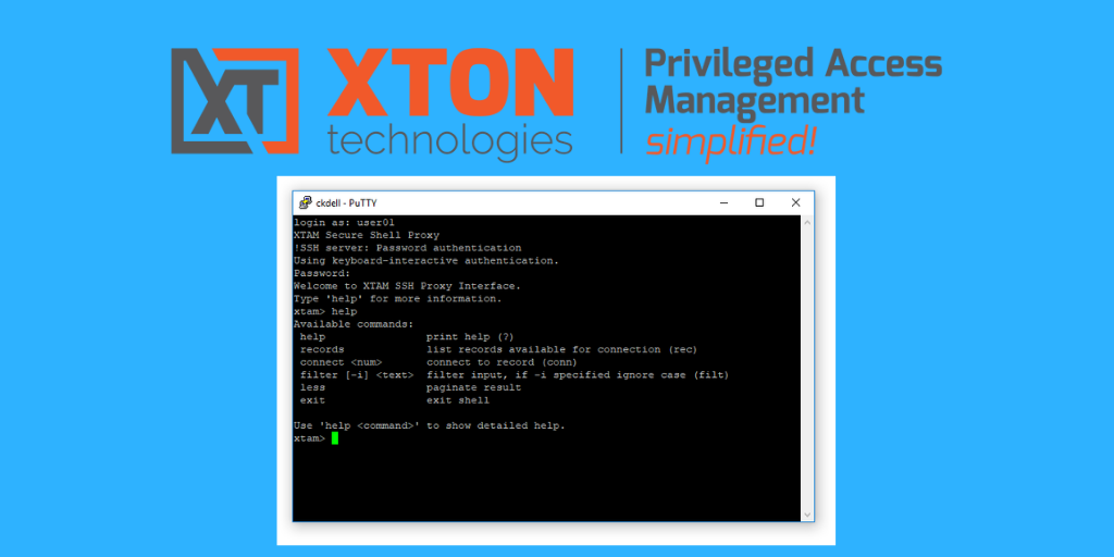 Xton Access Manager Update 2.3.201811191811 ssh proxy shell reference search