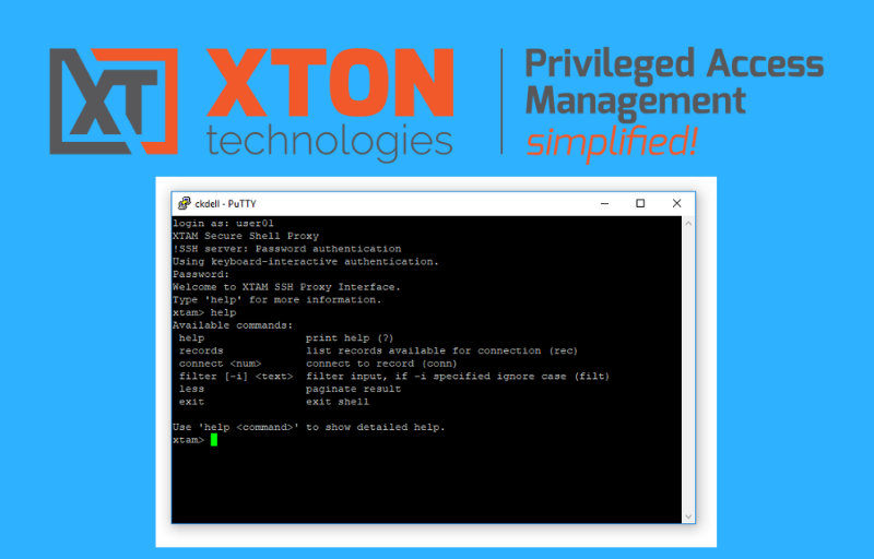 Xton Access Manager Update 2.3.201811182254 ssh proxy shell reference search