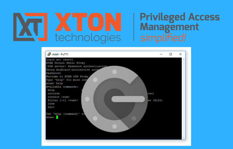 Xton Access Manager Product Update 2.3.201901132239 mfa ssh proxy native clients gauth putty python exclusive sessions