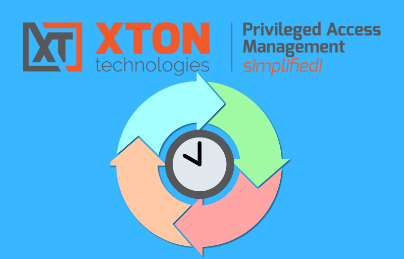 Xton Access Manager Product Update 2.3.201901272252 custom time window workflow job execution cron expression builder