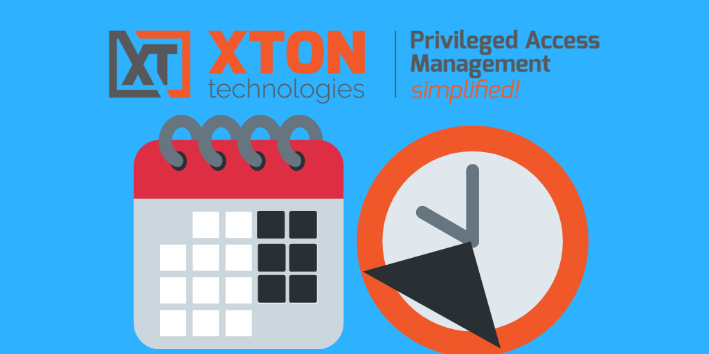 Xton Access Manager Product Update 2.3.201901202225 job execution time window breadcrumbs path navigation request review report