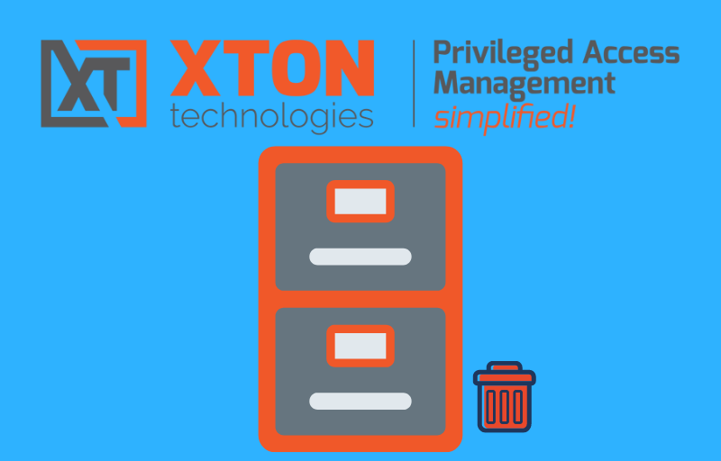 Xton Access Manager Product Update 2.3.201905192222 record archiving saved searches chained job execution