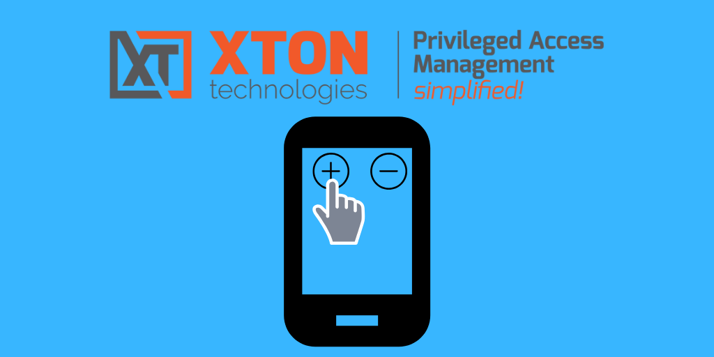 Xton Access Manager Product Update 2.3.201907142227 mobile pinch zoom two-finger scroll user manual documentation restrictive shell logging