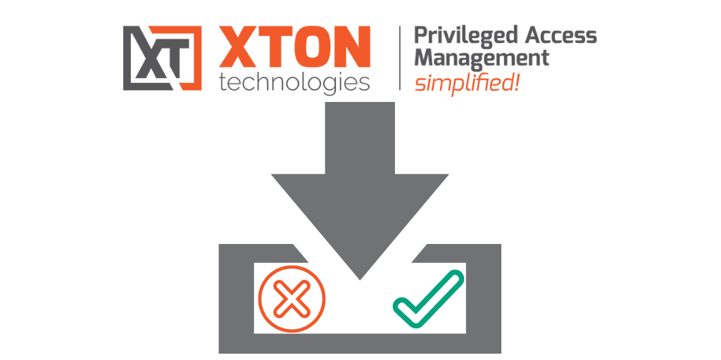 Xton Access Manager Product Update 2.3.201908252217 Unix Host with Private Key visual import