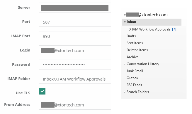 XTAM Access Request Approve By Email Configuration
