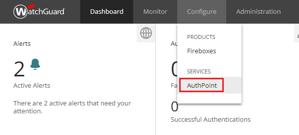 XTAM and WatchGuard AuthPoint Integration   Xton Technologies