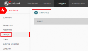 XTAM AuthPoint - Add Group