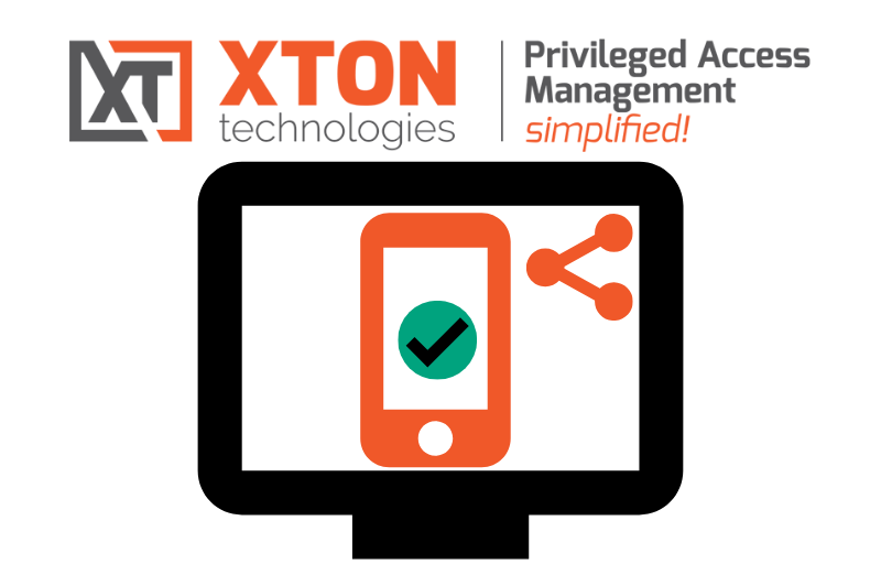 XtonTech XTAM Xton Access Manager privileged accounts virtual MFA shared MFA