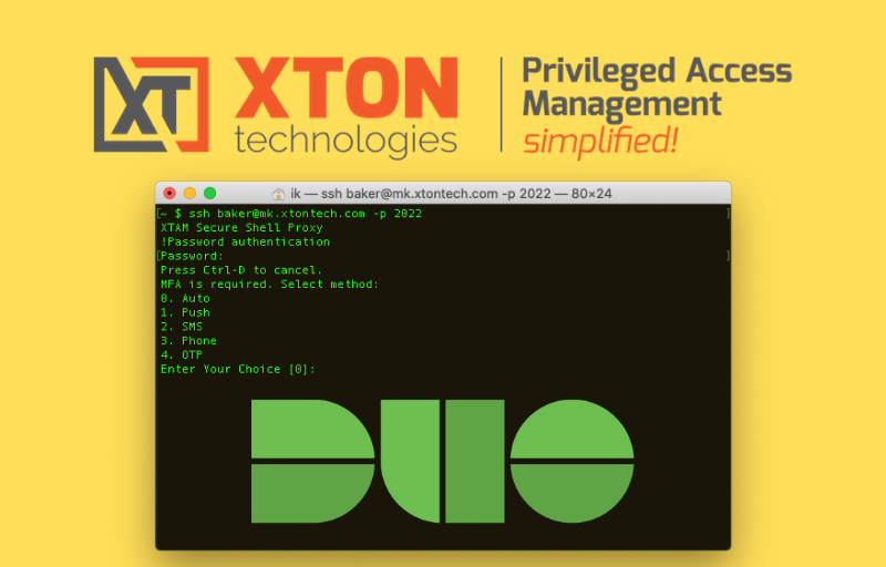 Xton Access Manager Product Update 2.3.201911102225 duo ssh proxy mfa 2fa copy subfolders quick view