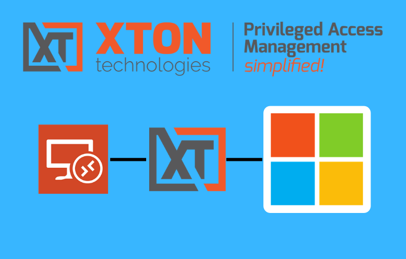 Xton Access Manager Product Update 2.3.201912012240 RDP Proxy mstsc native RDP applications