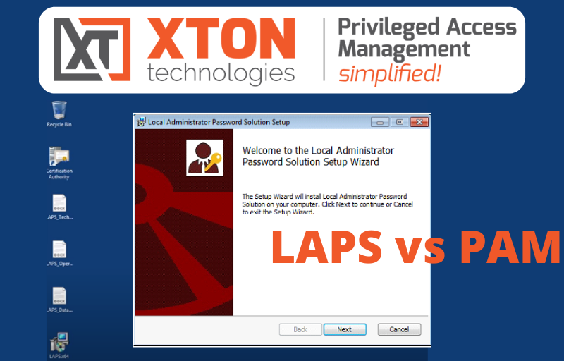 Microsoft LAPS vs PAM