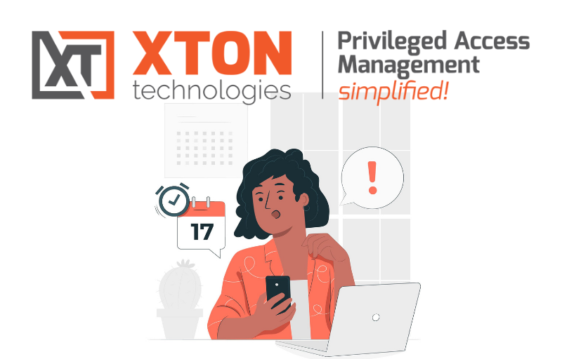 Xton Access Manager Product Update 2.3.202102072302 password expiration reminder virtual totp virtual sms