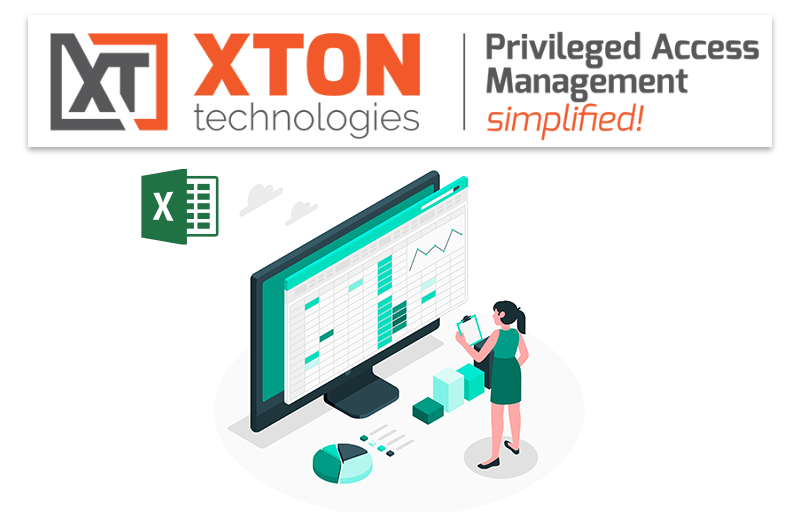 Xton Access Manager Product Update 2.3.202106132252 export system reports to MS Excel format