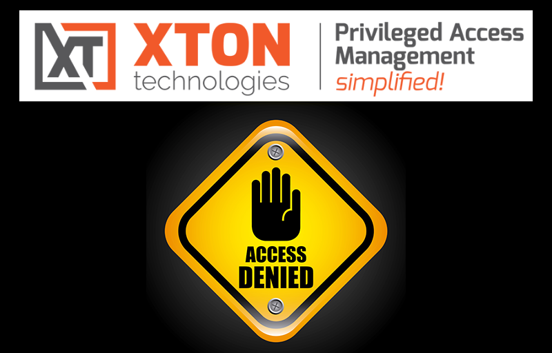 Xton Access Manager Product Update 2.3.202106062305 target host selection and host or network restriction